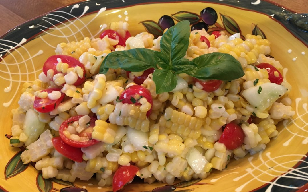 The Harvest: Corn, Avocado and Tomato Salad